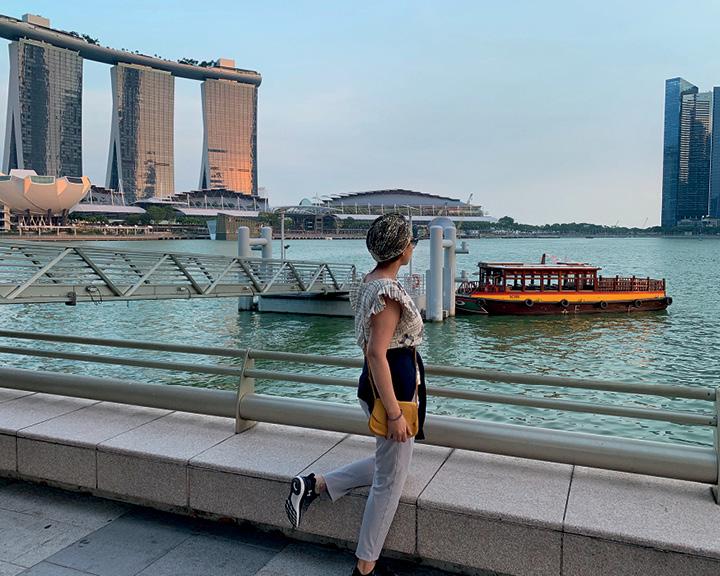 Lisa Ray Singapore