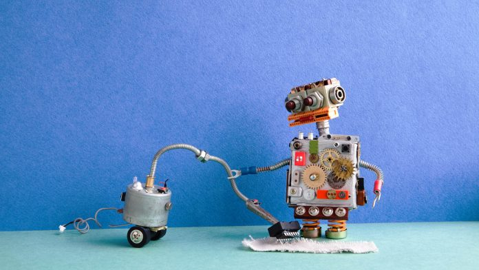 Abu Dhabi Airport Robots