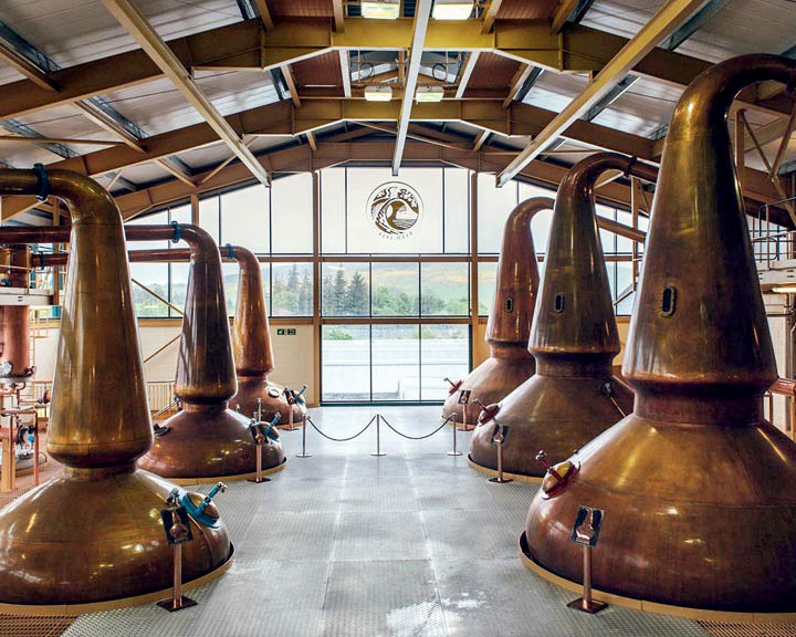 Virtual whisky trail of Speyside