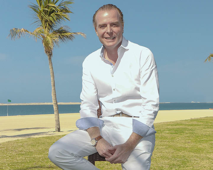 Thomas Grundner, Vice President of Sales and Marketing at JA Resorts & Hotels, Dubai