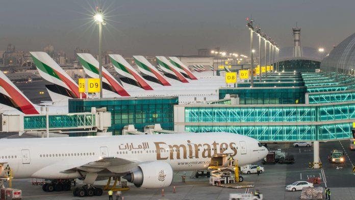 Dubai Airport PPE Vending Machines