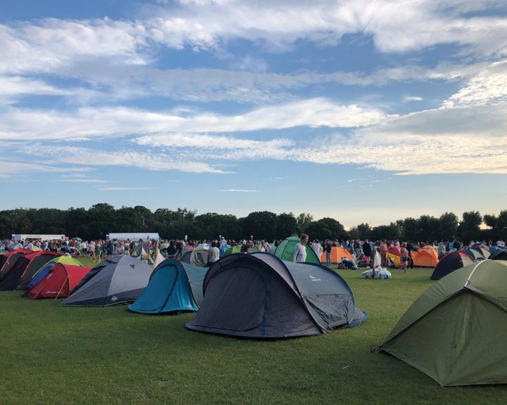 Camping Wimbledon's Super Saturday