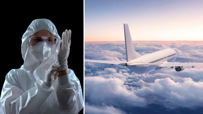 Is Wearing A Hazmat Suit Necessary While Flying