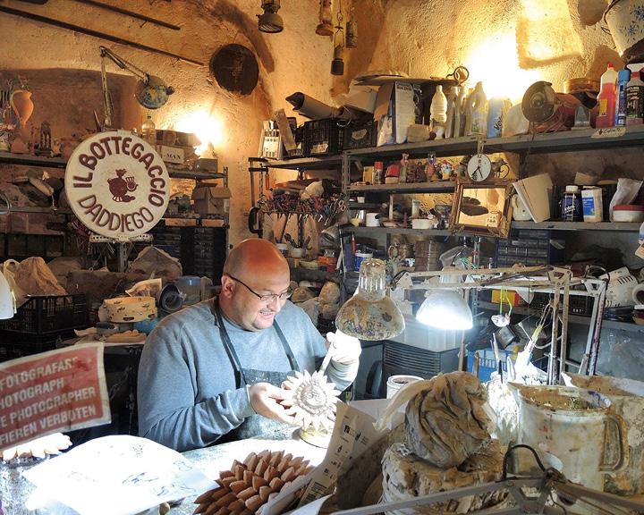 Matera Italy Cave