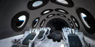 Space Plane for Tourists
