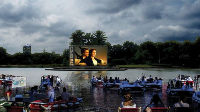 Israel's First Floating Cinema