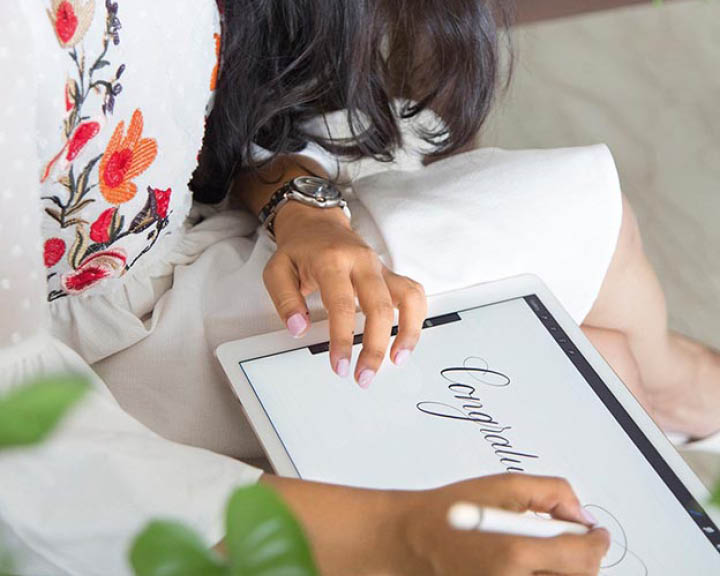 Airbnb calligraphy experience