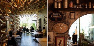 Interesting cafes around the world