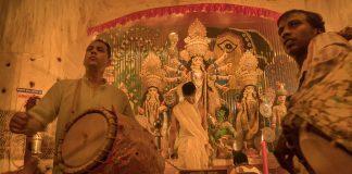 Kolkata Drive-In Durga Puja