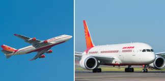 air india flights to nowhere