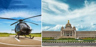 Helicopter rides in Bengaluru
