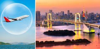 India Japan air bubble