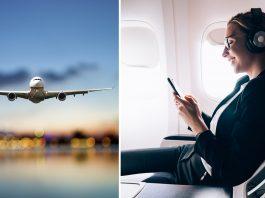 In-Flight Internet Services