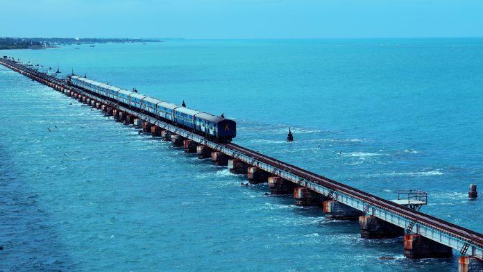 Sea Bridge in Rameshwaram