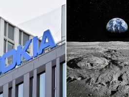 Nokia 4G On Moon