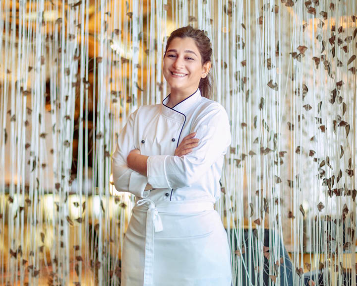 first female Emirati pastry chef