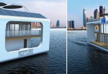 floating resort in dubai