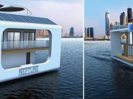 floating resort in dubai